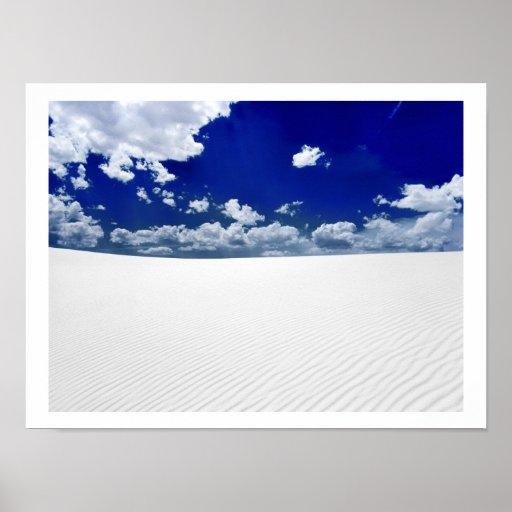 White Sands Desert Print