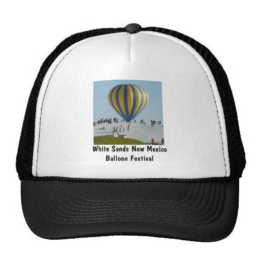 White sands Hot Air Balloon festival Hats
