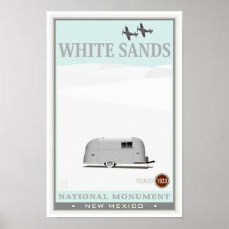 White Sands National Monument 1 Poster