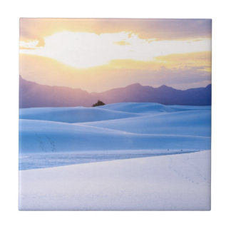 White Sands National Monument 3 Ceramic Tile