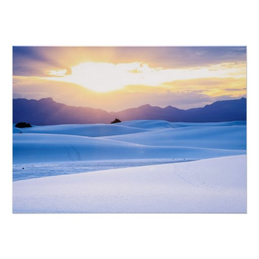 White Sands National Monument 3 Print