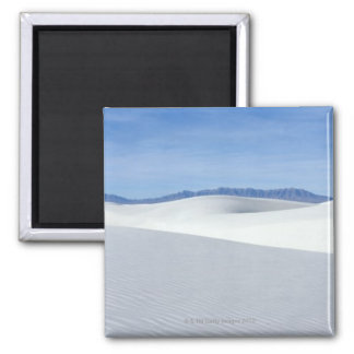 White Sands National Monument, New Mexico, USA Square Magnet