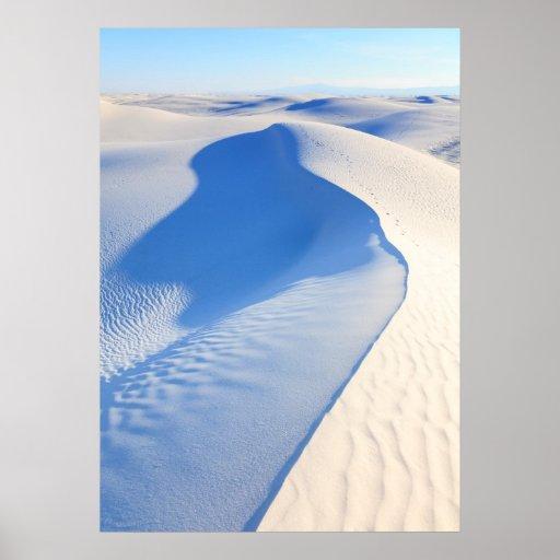 White Sands National Monument Poster