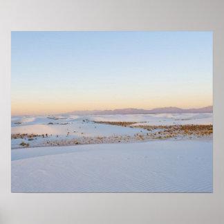 White Sands National Monument, Transverse Dunes 2 Poster
