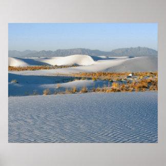 White Sands National Monument, Transverse Dunes 3 Poster