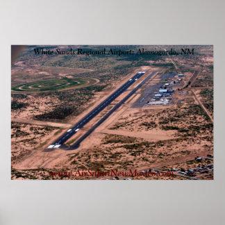 White Sands Regional Airport Alamogordo NM Poster