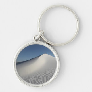 White Sands Silver-Colored Round Key Ring