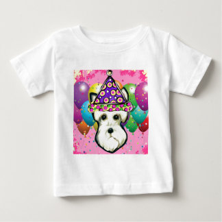 White Scottish Terrier Baby T-Shirt
