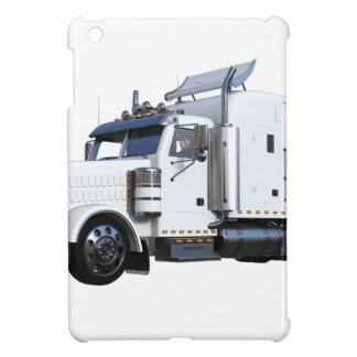 White Semi Tractor Trailer iPad Mini Case