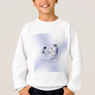 White Serenity Tiger Sweatshirt