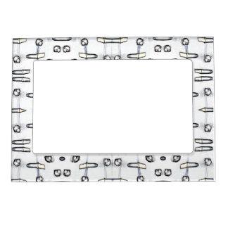 White Shadows Magnetic Frame