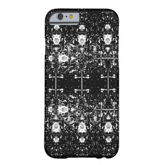 White Shapes iPhone 6/6s Case