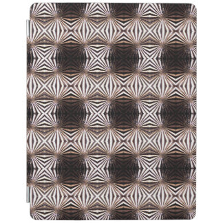 White Shapes Pattern iPad Smart Cover iPad Cover