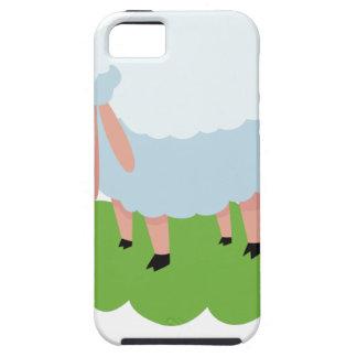white sheep and shaun the sheep iPhone 5 case