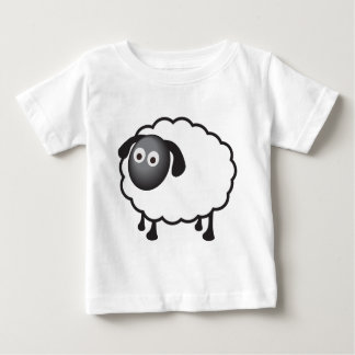 White Sheep Baby T-Shirt