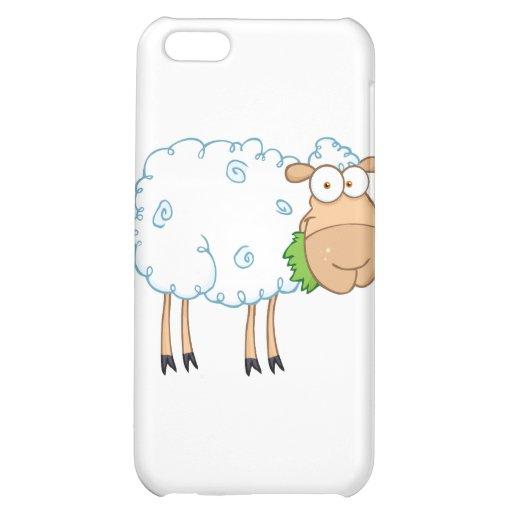 White Sheep Cartoon Character iPhone 5C Covers