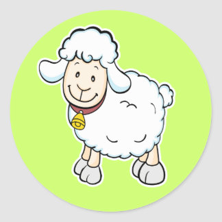 White Sheep sticker