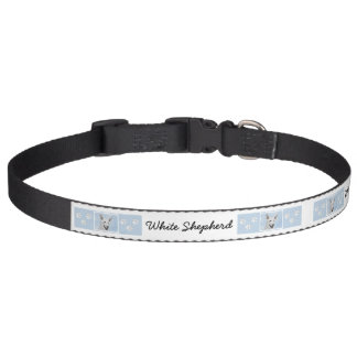 White Shepherd Pet Collar