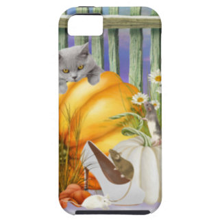 White Shoe Lost in the Pumpkin Patch is a collage Tough iPhone 5 Case