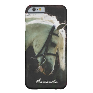 White show pony barely there iPhone 6 case