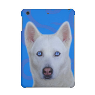 White Siberian Husky iPad Mini 2 & 3 Case