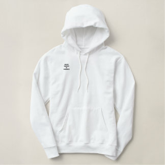 White Silence is Violence hoodie