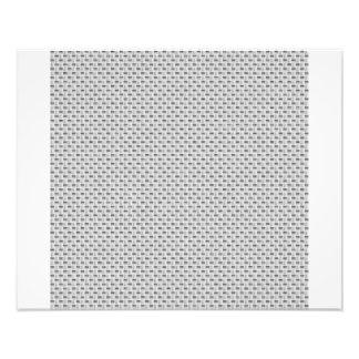 White Silver Carbon Fiber (Faux) Patterned Art Photo