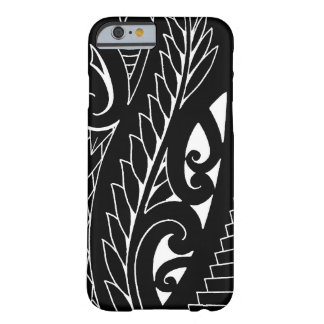 White silverfern New Zealand national symbol art Barely There iPhone 6 Case