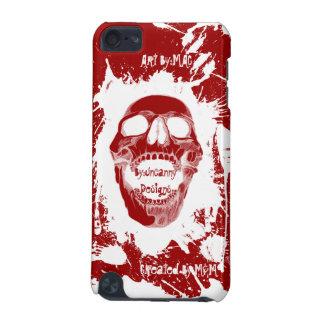 White Skull Splatter Speck® Fitted™ Hard Shell Cas iPod Touch 5G Cover