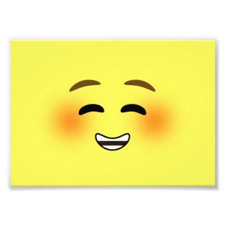 White Smiling Emoji Photograph