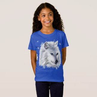 WHITE SNOW WOLF T-Shirt