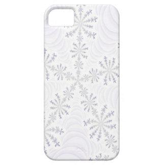 White Snowflake Fractal iPhone 5 Case