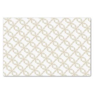 White Snowflake Tissue Paper