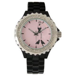 White Space Scuba Diva Wristwatch