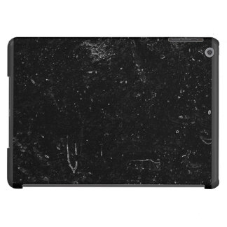 White Specks On A Black Background iPad Air Cover