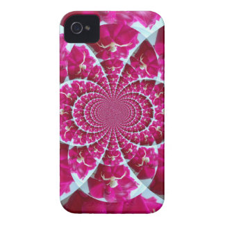 White Spider on a Beautiful Red Rose iPhone 4 Case-Mate Cases