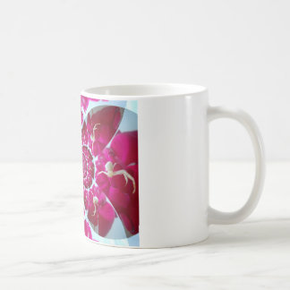 White Spider on a Beautiful Red Rose Mug Wrap-Imag