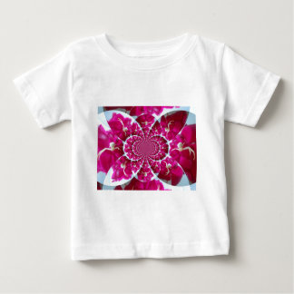 White Spider on a Beautiful Red Rose Shirt