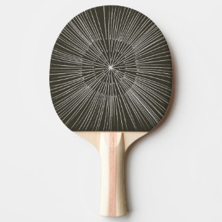 White spokes on black, layers, ping pong paddles