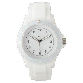 White Sporty Watch