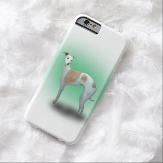 White Spotted Greyhound Dog Barely There iPhone 6 Case