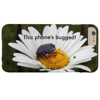 White-spotted Rose Beetle Bugged iPhone Case