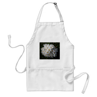 WHITE SPRING CROCUSES Apron