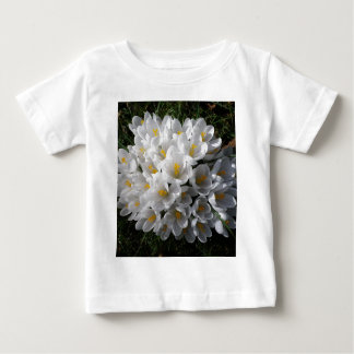 WHITE SPRING CROCUSES BABY T-Shirt