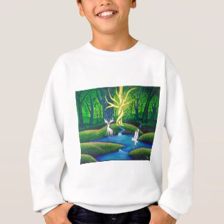 White Stag, Tree of Life Sweatshirt