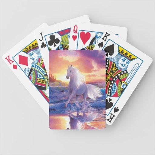 White Stallion Playing Cards