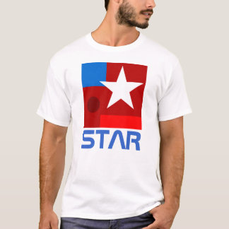 White Star abstract composition T-Shirt