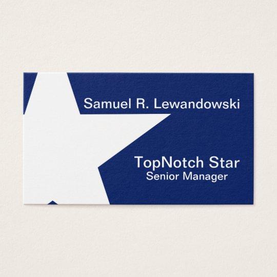 White Star Elegant customisable Business Card