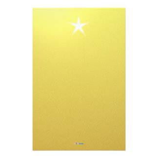 White Star Gold Paper Stationery Paper