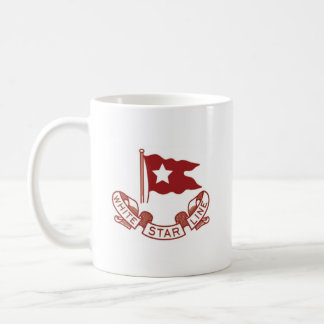 White Star Line Basic White Mug